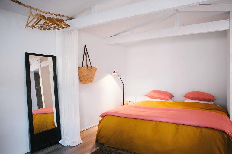 Interieurfotografie vakantiewoning slaapkamer